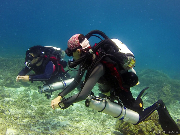 PADI Rebreather courses on the Hollis Explorer in Phuket Thailand