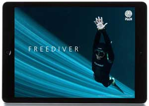 Touch App for PADI Freediver courses
